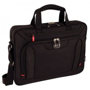 "Torba na laptopa WENGER Slim Index, 16"", 420x320x80mm, czarna"