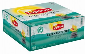 Lipton Green Tea Citrus 100 kop. fol.