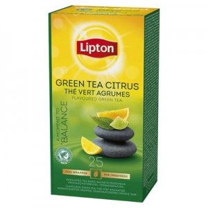 Lipton Green Tea Citrus 25 kop. fol.