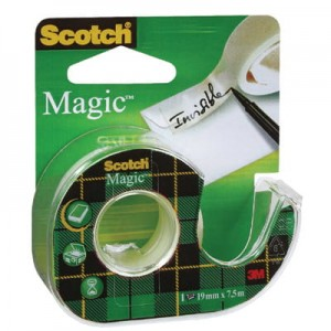 Taśma Scotch® Magic™, matowa, 19 mm x 7,6 m