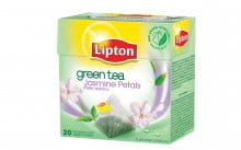 Herbata LIPTON GREEN TEA JAŚMIN 20szt PIRAMIDKA