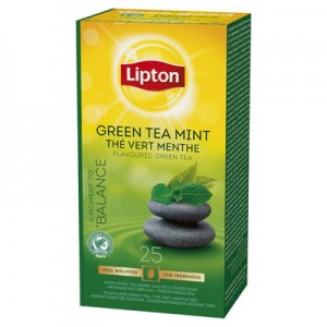 Lipton Green Tea Mint 25 kop.fol.